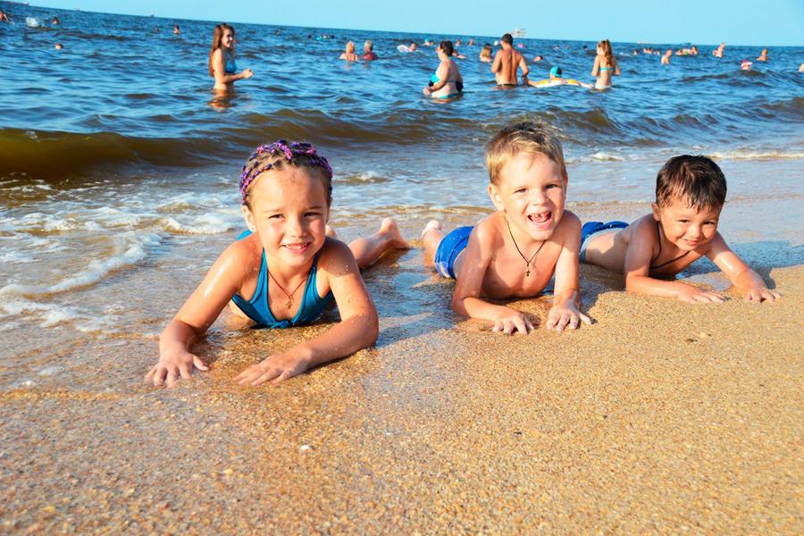 Базы отдыха Крыма на Азовском море отдых с детьми