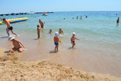 Отдых в Новоотрадном с детьми на Азовском море