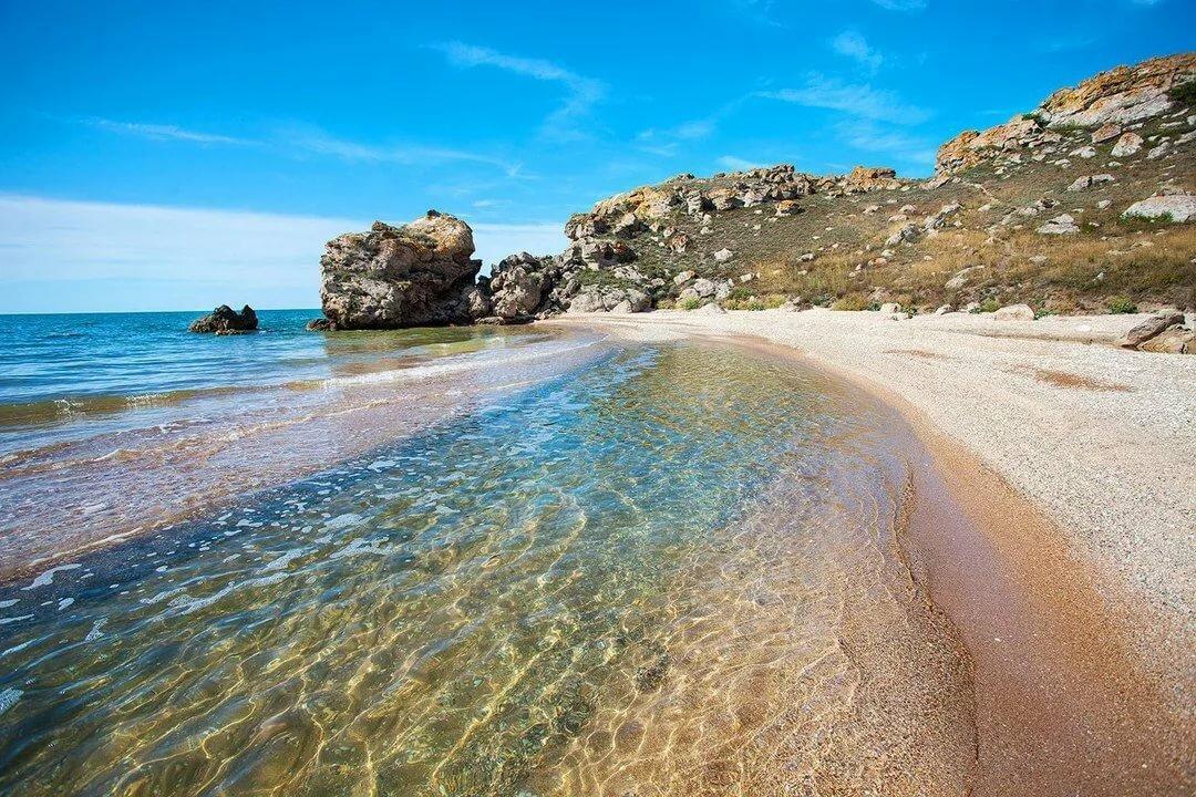 Базы отдых в Крыму на Азовском побережье