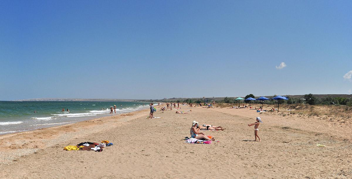 Отдых на Азовском море недорого в Новоотрадном